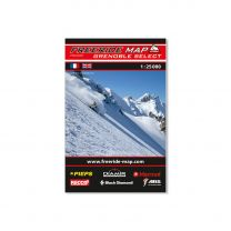 Freeride Map - Grenoble Select