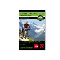 MTB Trail- Map Valais Central
