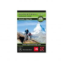 MTB Trail- Map Zermatt / Saas Fee