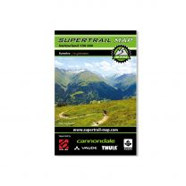 Supertrail Map - Surselva / St. Gotthard