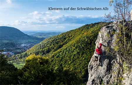 Klettern Schwäbische Alb