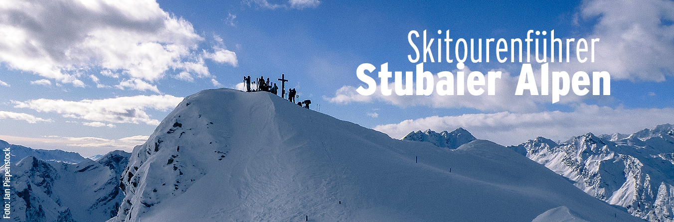 Skitourenführer Stubaier Alpen - Jan Piepenstock