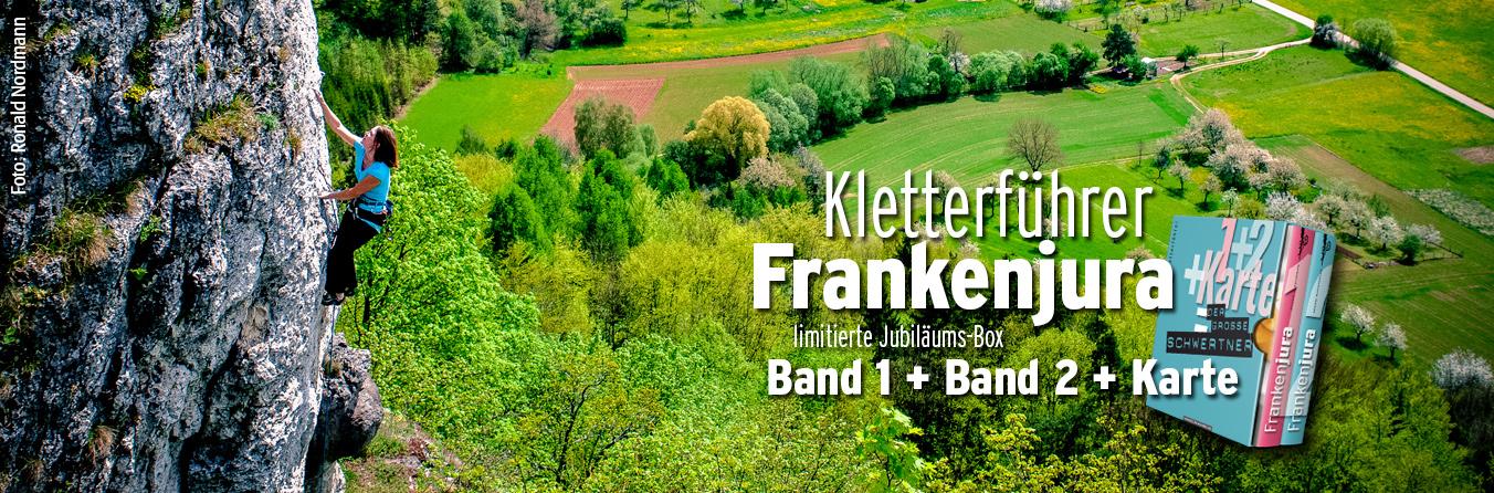Kletterführer Frankenjura Jubiläumsbox - Sebastian Schwertner