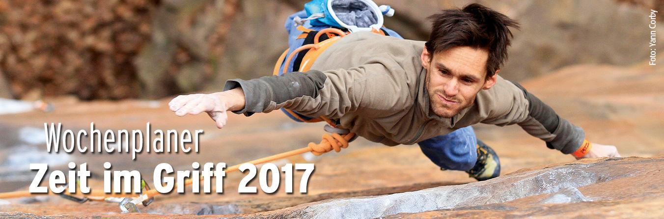 Wochenplaner Zeit im Griff 2017