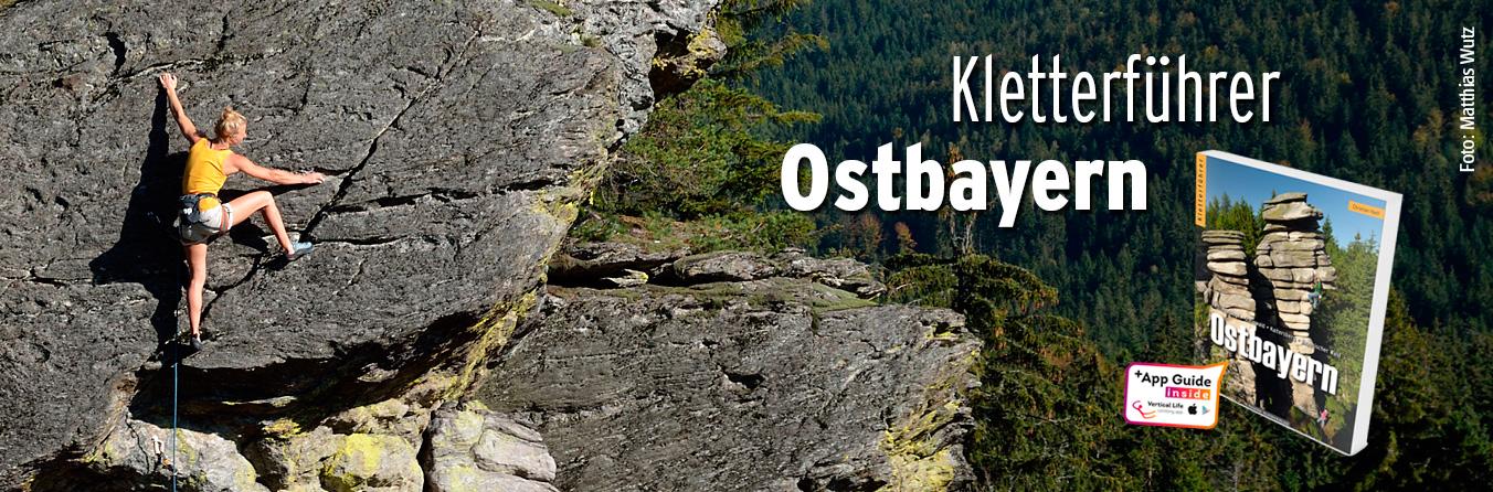 Kletterführer Ostbayern