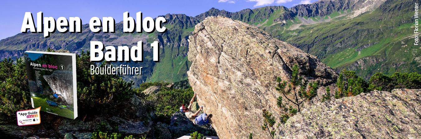 Boulderführer Alpen en Bloc Band 1