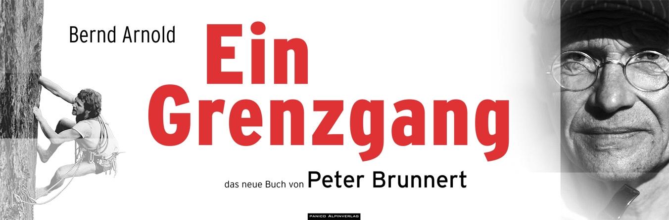 Bernd Arnold Ein Grenzgang - Peter Brunnert