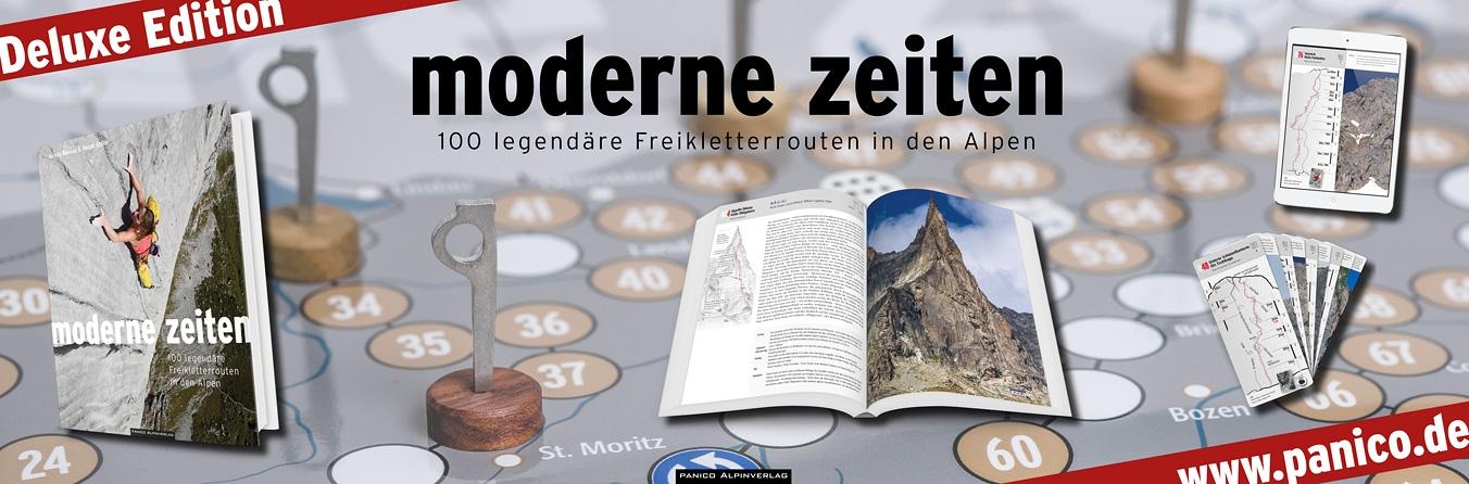 Moderne Zeiten Deluxe Edition - Bildband und Kletterführer