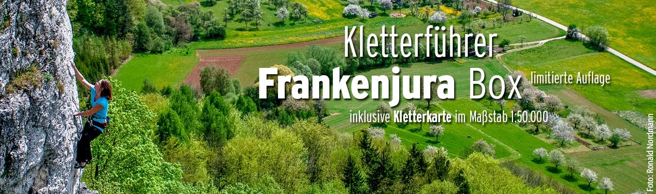 Frankenjura Box - Kletterführer