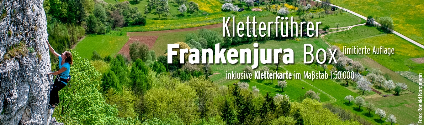 Frankenura Sonderedition - Box - Kletterführer