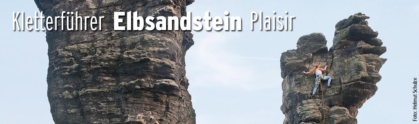 Elbsandstein Plaisir - Kletterführer