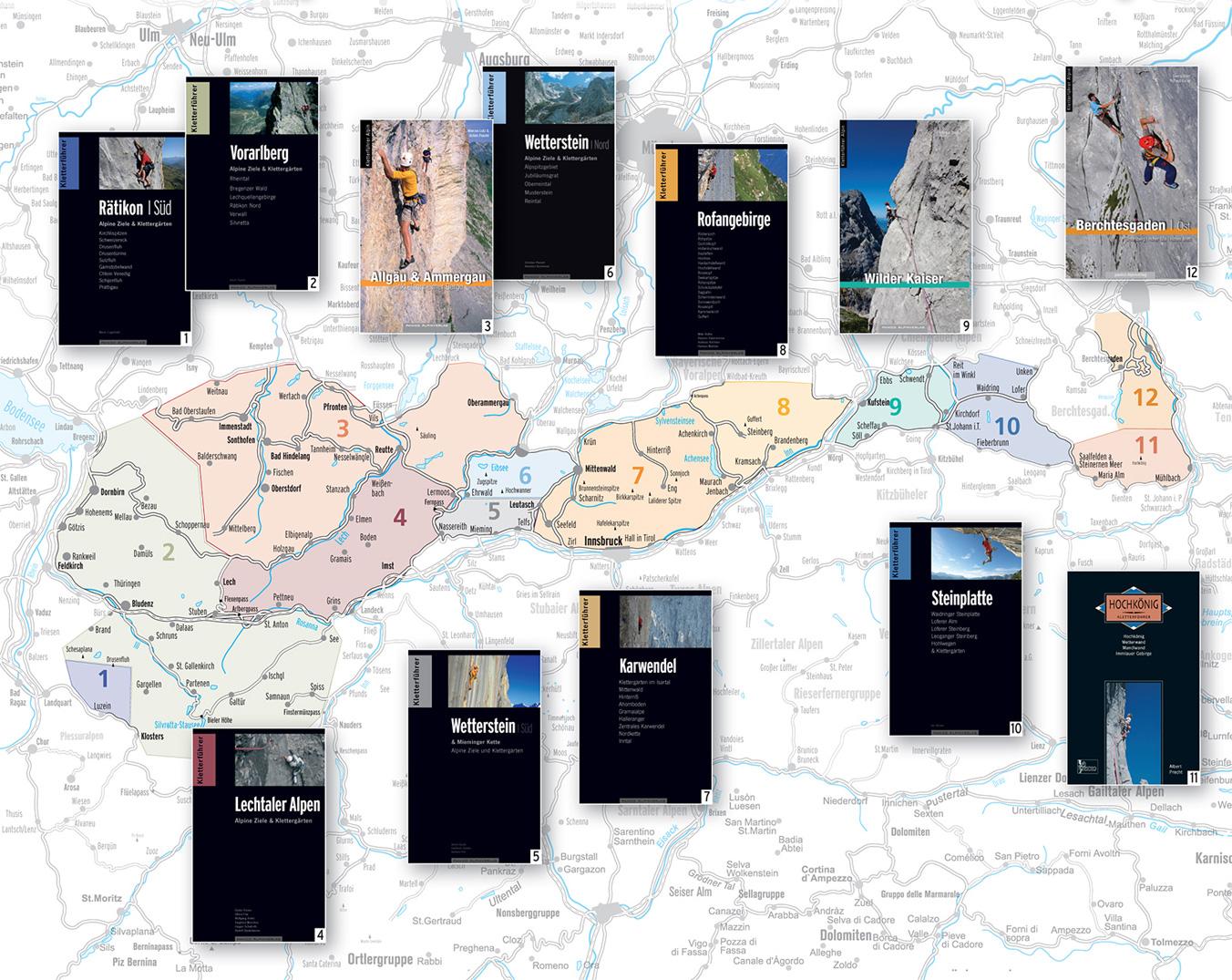 Übersichtsgrafik Alpin-Kletterführer